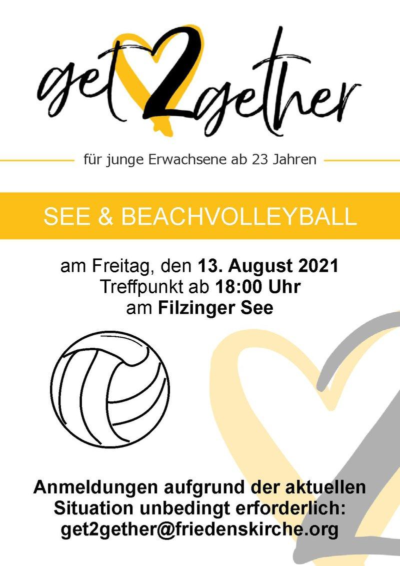See & Beachvolleyball