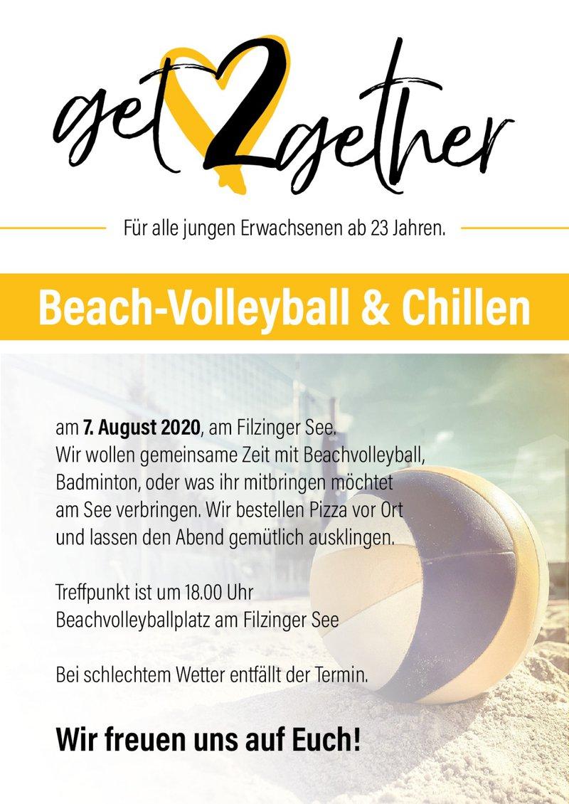 get2gether - Beachvolleyball & chillen