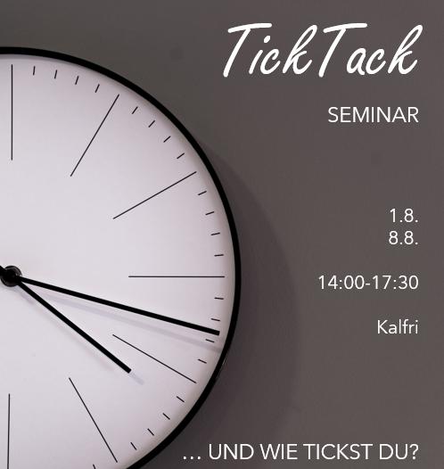 TickTack-Seminar