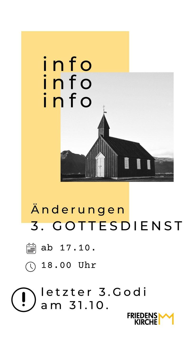 3. Gottesdienst