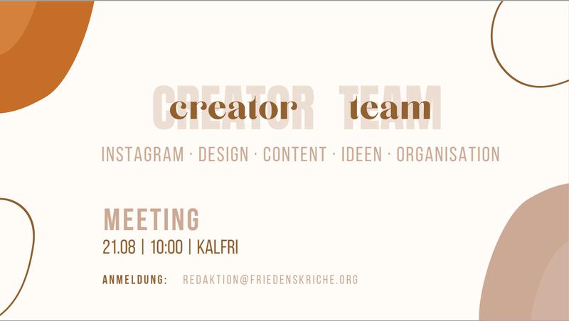 creator team